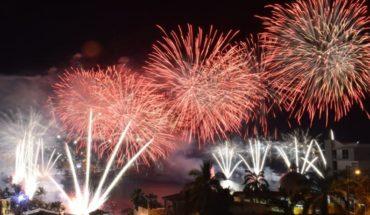 Combate Naval ilumina el cielo en el Carnaval Mazatlán 2019