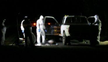 Conductor de camioneta es acribillado en la región de Acuitzio del Canje, Michoacán