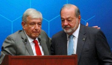 """""""Denle tiempo a AMLO, llevamos 100 días"""": Carlos Slim"""