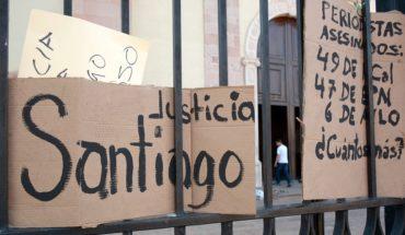 Detienen a presunto homicida del periodista Santiago Barroso