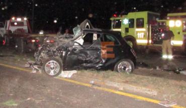 Dos muertos y dos heridos en choque frontal en la salida a Salamanca