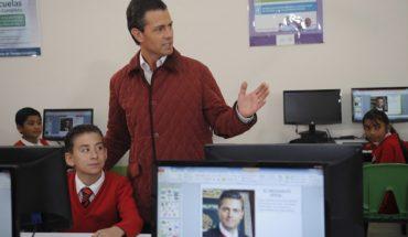 EPN destinó 3 mil mdp a promoción de la reforma educativa