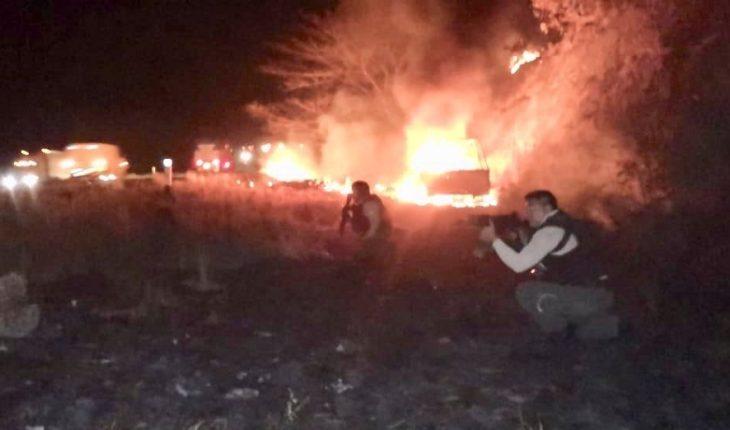 Enfrentamientos dejan 5 muertos y bloqueos en Veracruz