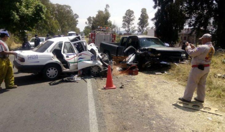 Fallece mujer tras choque sobre la carretera Santa Ana Maya-La Cinta