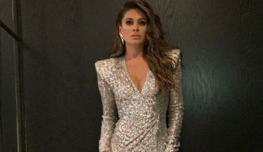 Galilea Montijo, elegante y sensual con su vestido plateado (VIDEO)