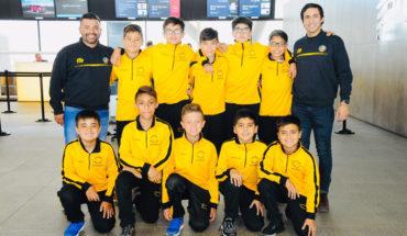 Ganadores del Campeonato Infantil de Fútbol Scotiabank de gira por Barcelona