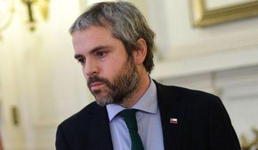 """Gonzalo Blumel: """"De nuestra parte van a encontrar la mejor voluntad para dialogar"""""""