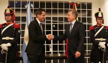 """Guaidó aseguró que su reunión con Macri en Argentina fue """"excelente"""""""