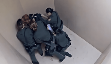 Guardias golpean a reo que padece enfermedad mental