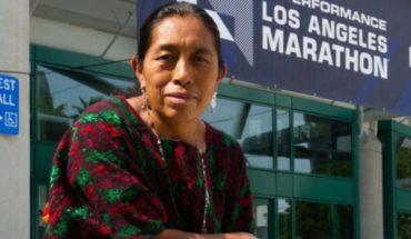 Guatemalteca maya corre Maratón de Los Ángeles por primera vez