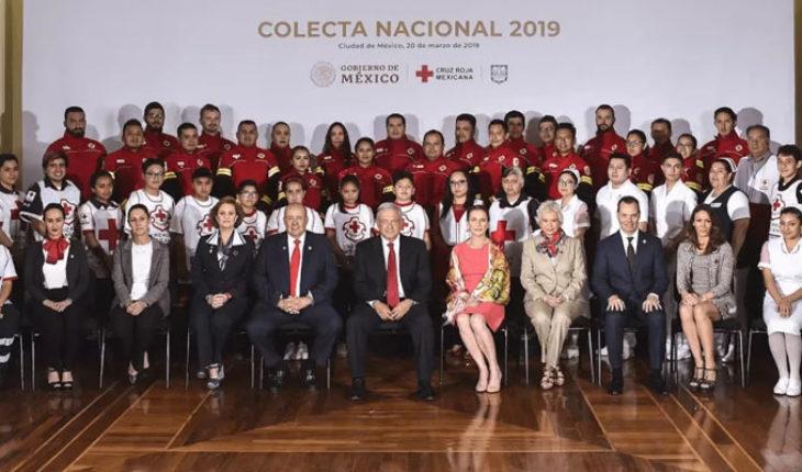 Inicia la Colecta Nacional de la Cruz Roja Mexicana