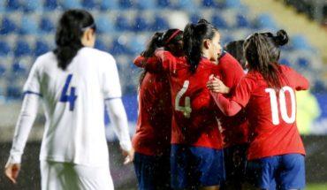 La 'Roja' femenina cayó un lugar y es 39° en el ránking FIFA