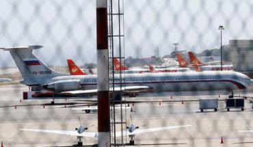 Llegan a Venezuela dos aviones rusos con un centenar de militares