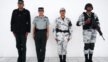 Los uniformes que usarán los elementos de la Guardia Nacional