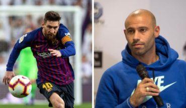 Mascherano y el mensaje a Messi por su regreso a la selección
