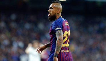 Medio español aseguró que Vidal dejará el Barcelona a final de temporada