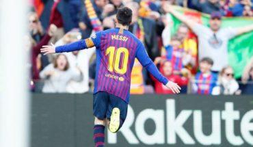 Messi se adueña del derbi catalán ante Espanyol y Barcelona se encamina al título