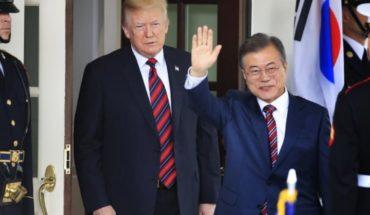 Moon se reunirá con Trump para abordar la diplomacia con Kim