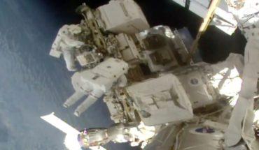NASA concluye con éxito la segunda de las tres caminatas especiales