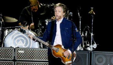 Paul McCartney hechizó a todo el Estadio Nacional