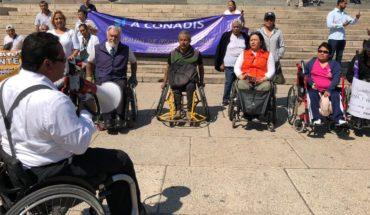 Personas con discapacidad exigen a AMLO un registro nacional y representatividad en el gobierno