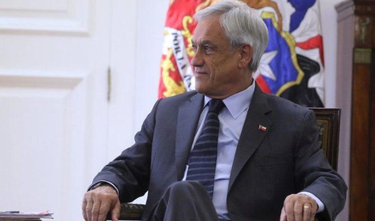 """Piñera a Chile Vamos por control de identidad: """"Tengan más fe, es algo que la mayoría de los chilenos quiere y está pidiendo"""""""