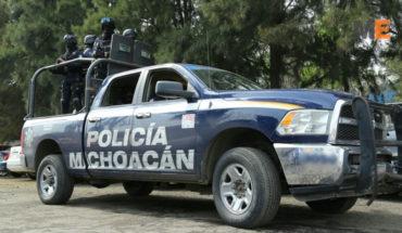 Policías capturan a 2 presuntos robacarros en Tangancícuaro, Michoacán