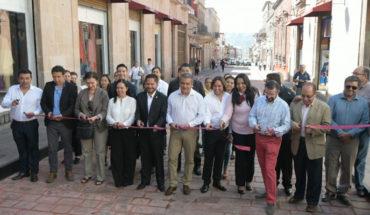 Raúl Morón apertura vialidades incluyentes en el Centro Histórico