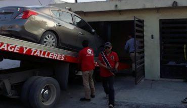 Recuperan auto robado en Monterrey