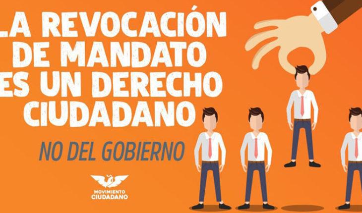 Revocación de Mandato no es una concesión, es una exigencia ciudadana: Luis Manuel Antúnez