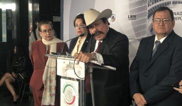 Senador Guadiana rechaza conflicto de interés