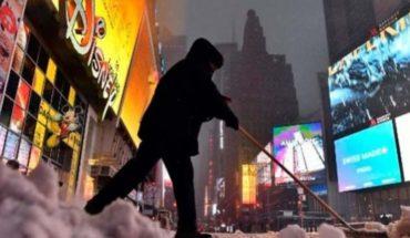 Tormenta de nieve azota Nueva York y estados vecinos