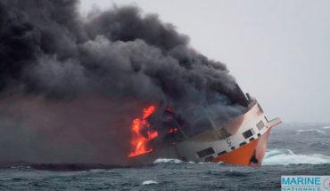 """Tras el hundimiento del barco italiano """"Grande América"""", Francia garantiza todo para """"reducir el impacto"""" de la contaminación"""