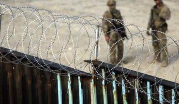 Trump pone alambre de púas en muro fronterizo y se lo roban
