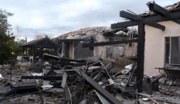 Un cohete hace impacto sobre casa al norte de Tel Aviv