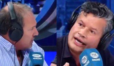 """[VIDEO] """"Sos un cagón"""": la dura discusión entre """"Superman Vargas"""" y Felipe Bianchi en Fox Radio"""