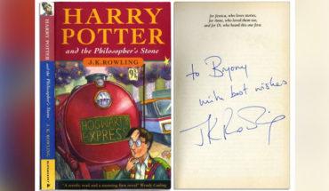 Venden un libro de la primera edición de Harry Potter en casi dos millones de pesos