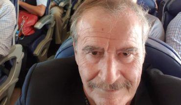 Vicente Fox de burla de AMLO por viajar en avión comercial