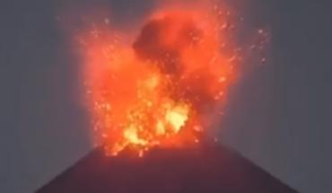 Video: Así se vivió la más reciente explosión del volcán Popocatépetl