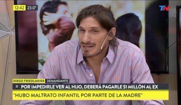 Debe indemnizar al ex con 1 millón por no dejarle ver a su hijo
