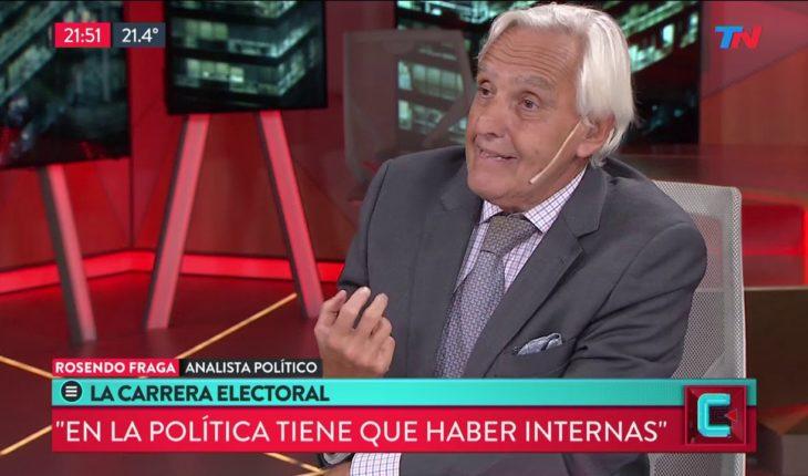 """El análisis político de Rosendo Fraga: """"No hay que tenerle miedo a las elecciones internas"""""""