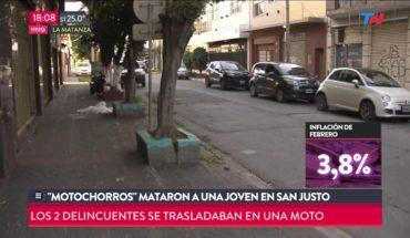 Motochorros mataron a una mujer en San Justo