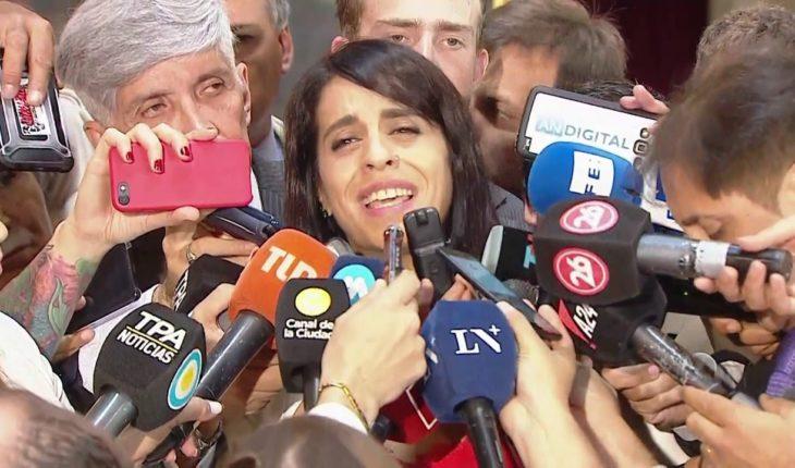 """Victoria Donda: """"Es la última apertura legislativa de Macri como presidente"""""""
