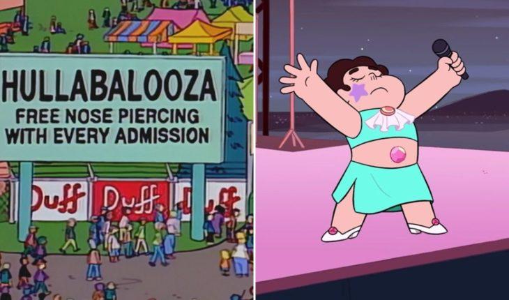 ¿En qué series televisivas apareció el Lollapalooza?