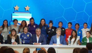 AFA presentó la Liga Profesional de Fútbol Femenino