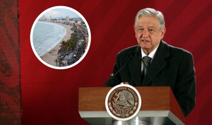 """AMLO denounces """"swindle"""" on purchase of rancho in Mazatlan, Sinaloa Sinaloa"""