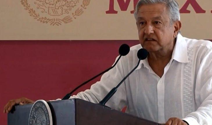 AMLO quiere que el Papa pida perdón México