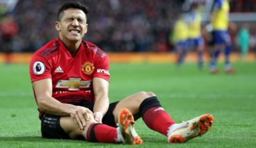 Alexis Sánchez will be between six and eight weeks sidelined