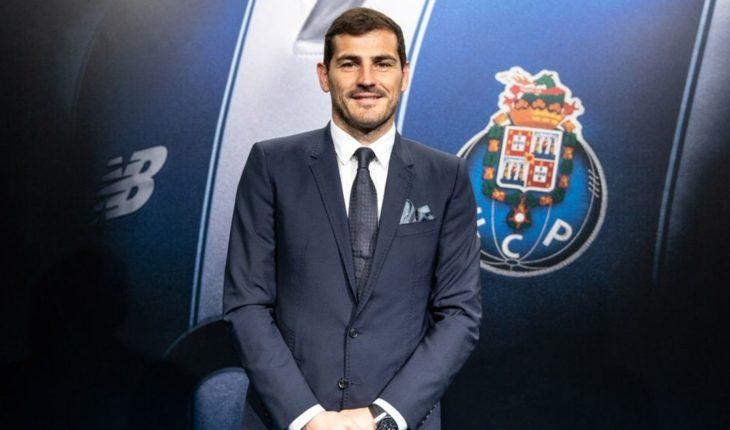 Apostar por alguien de 37 años no es fácil, Casillas agradece al Porto