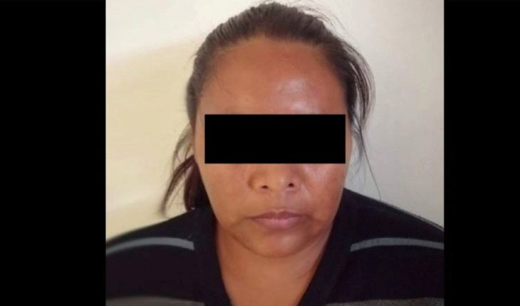 Arrested woman who recorded the rape of her daughter in Tecámac